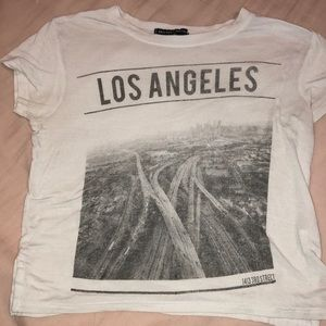 brandy melville los angeles tee